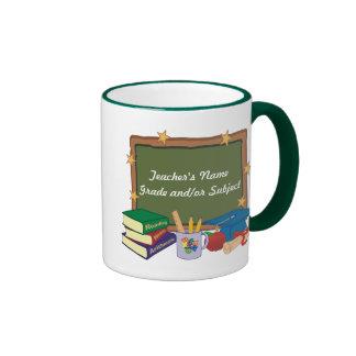 Profesor personalizado taza de café