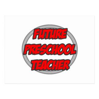 Profesor preescolar futuro postal