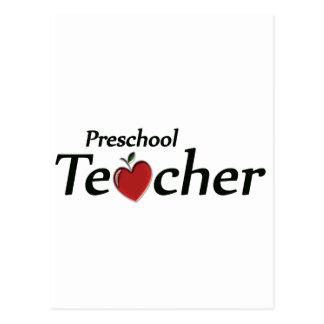 Profesor preescolar postales