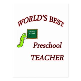 Profesor preescolar postal