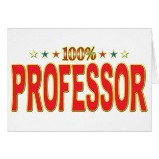 Profesor Star Tag Felicitaciones