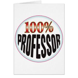 Profesor Tag Tarjetón