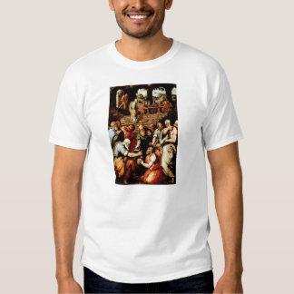 Profeta Elisha de Jorge Vasari-The que limpia Camisetas