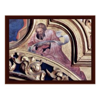 Profeta Isaías de Gentile da Fabriano Postal