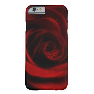 Profundidad del rosa rojo del amor funda para iPhone 6 barely there
