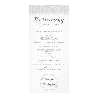 Programa botánico moderno de la bodas de plata de
