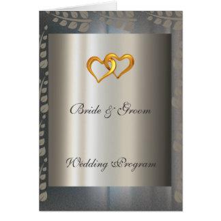 Programa de la bodas de plata felicitaciones