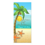 Programa de la ceremonia de boda de playa de la comunicados