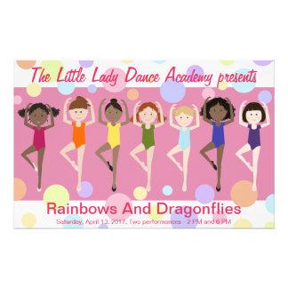 Programa del decreto de la danza folleto 14 x 21,6 cm