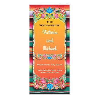 Programa mexicano del boda de la fiesta