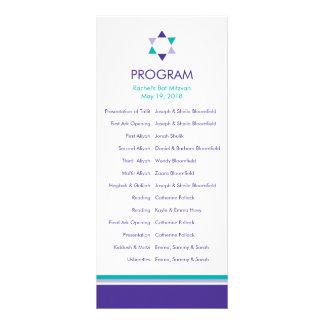 Programa moderno de Mitzvah del palo de la