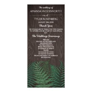 Programas botánicos rústicos del boda del arbolado lona