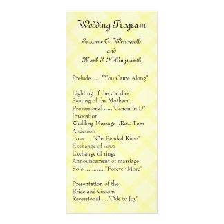 Programas contemporáneos del boda - inspectores am tarjetas publicitarias a todo color