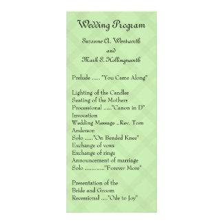 Programas contemporáneos del boda - inspectores ve tarjetas publicitarias