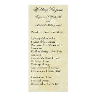 Programas contemporáneos del boda plantillas de lonas