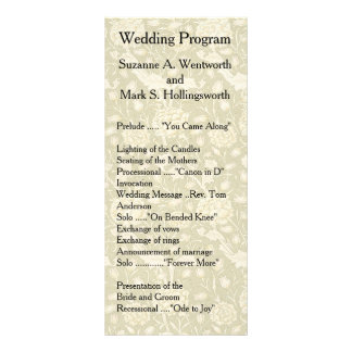 Programas florales del boda, materia textil,