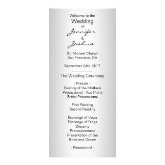 Programas negros de plata de encargo elegantes del tarjeta publicitaria personalizada