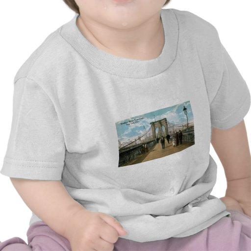 """""""promenade"""" del puente de Brooklyn, New York City Camisetas"""