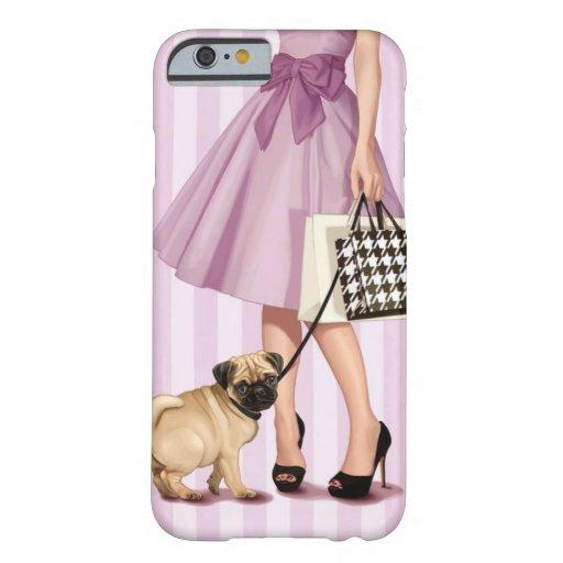 """promenade"" elegante funda de iPhone 6 barely there"