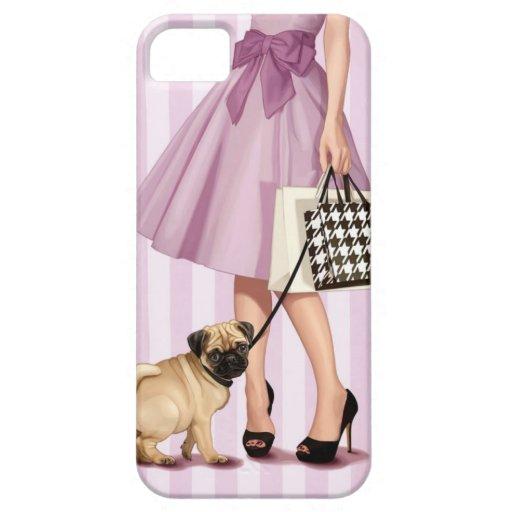 """promenade"" elegante iPhone 5 carcasas"