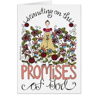 Promesas - tarjeta de felicitación