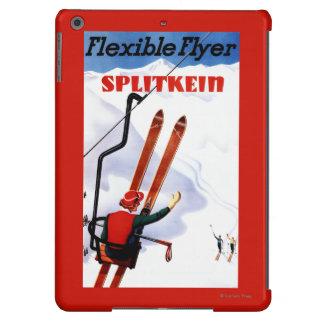 Promo de madera de los esquís de Splitkein del Funda Para iPad Air