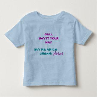 Promoción de ventas. IDEAS DE LA VENTA Camiseta De Niño