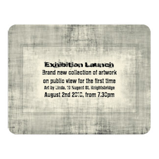Promoción del lanzamiento del arte de la invitación 10,8 x 13,9 cm