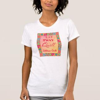 Promoción del negocio del edredón del arte del camiseta