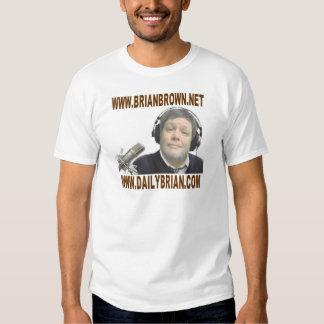 Promoción del Web site de Brian Brown Camiseta