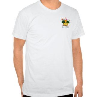 Promoción tropical de la isla del desalojo urgente camiseta