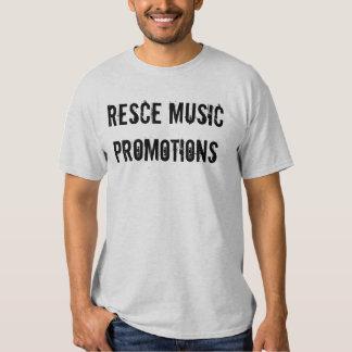 Promociones de la música de Resce Camisetas