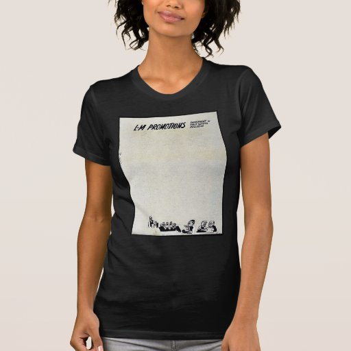 Promociones del L-M Camiseta