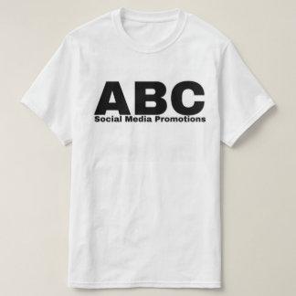 Promociones sociales de los medios de ABC - Camiseta