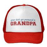 Promovido al abuelo gorra