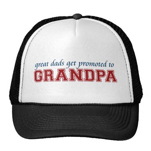 Promovido al abuelo gorros bordados