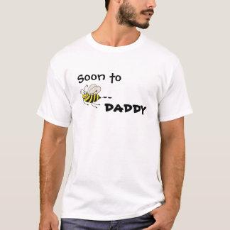 Pronto al PAPÁ de la abeja - camiseta adaptable