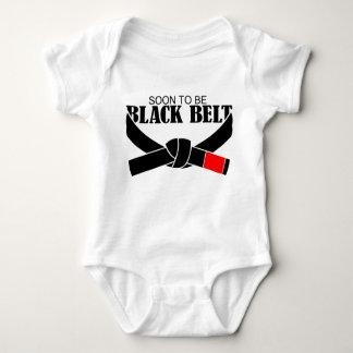 ¡Pronto para ser correa negra!!! Body Para Bebé