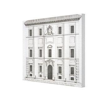 Propaganda Fide de Palazzo del Collegio de, de 'PA Impresión En Lienzo