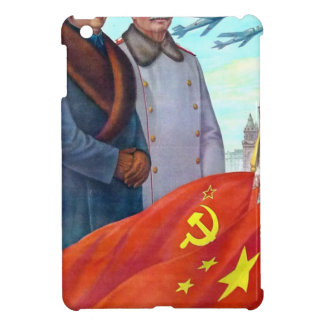 Propaganda original Mao Zedong y Joseph Stalin