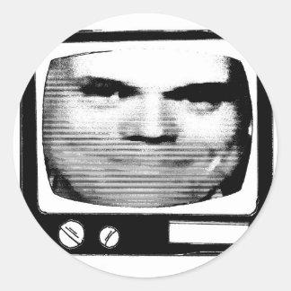 propaganda retra de la TV Pegatina