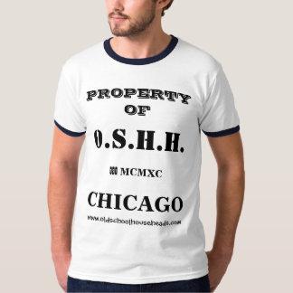 Propiedad de encargo para hombre T de O.S.H.H. Camisetas