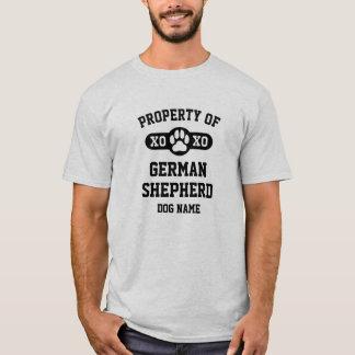 Propiedad de la camiseta [de la raza conocida