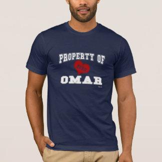 Propiedad de Omar Camiseta