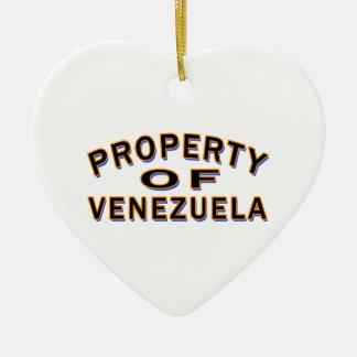 Propiedad de Venezuela