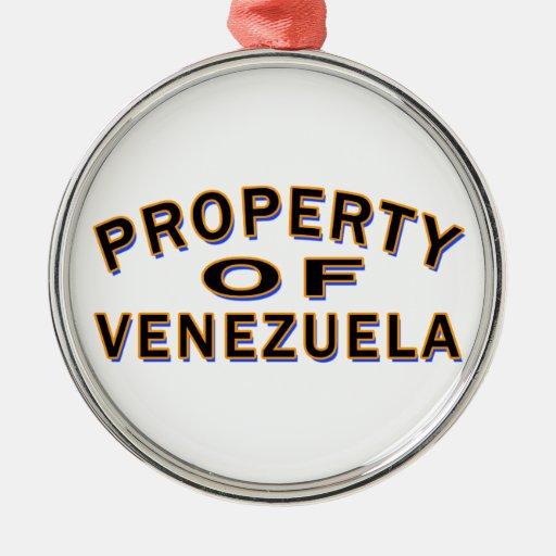 Propiedad de Venezuela Adorno