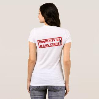 Propiedad del Jesucristo Camiseta