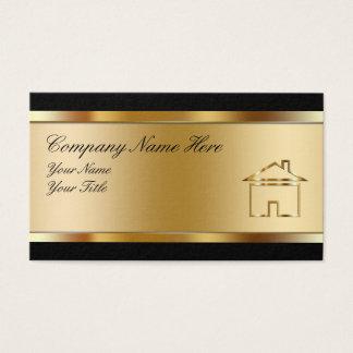 Propiedades inmobiliarias Businesscards con clase Tarjeta De Negocios