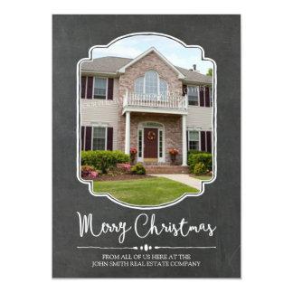 Propiedades inmobiliarias de la tarjeta de la foto invitación 12,7 x 17,8 cm