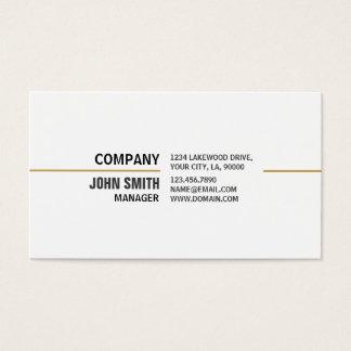 Propiedades inmobiliarias elegantes llanas tarjeta de negocios
